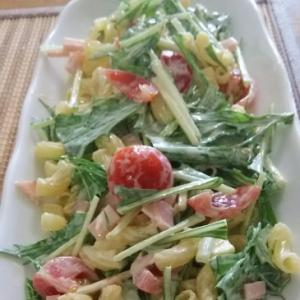 【水菜入り】マカロニサラダ