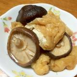 油揚げと干し椎茸の煮物