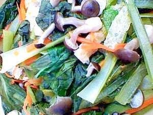 小松菜の昆布茶煮