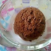 砂糖・乳製品なしのさっぱり☆ココアアイスクリーム