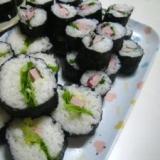 らっきょう酢で簡単巻き寿司