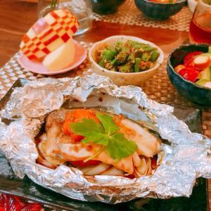 ブリのホイル醤油麹焼き☆