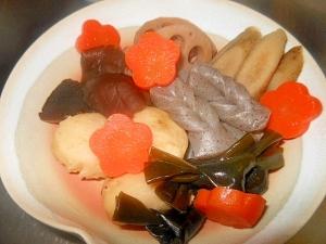 野菜と昆布の煮しめ