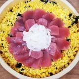 ひな祭りに♪お花のちらし寿司