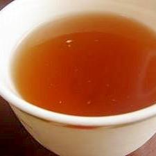 明日の健康のために…椎茸茶