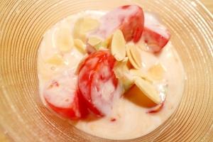 簡単ミディトマトのヨーグルトサラダ