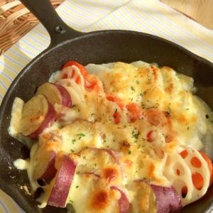 根菜チーズのグリル
