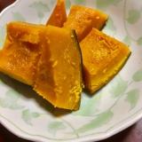 めんつゆだけ☆かぼちゃの煮物