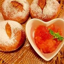 リンゴ☆柚子シナモン風味ジャム