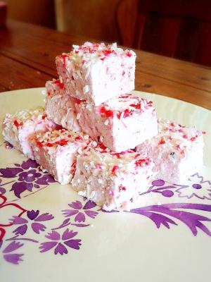 かわいいピンクのマシュマロを作りましょう♡