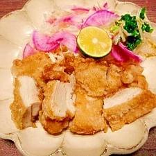 炭酸水で軟らか☆鶏モモ肉から揚げ