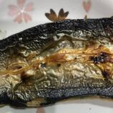 ひまわり油で✨秋刀魚の開き焼き(^^)