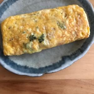 ツナとハナッコリーの卵焼き
