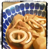 めんつゆで簡単♪イカと里芋の煮物