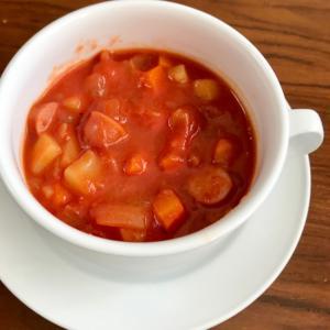 トマト缶で簡単☆ミネストローネ