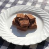 オオバコでつくる超簡単で低糖質な絶品チョコ餅