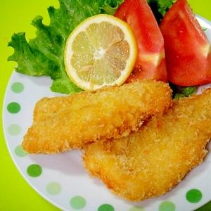 お好みの魚を使って☆「白身魚のフライ」献立