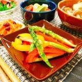 糖質制限☆グリル野菜