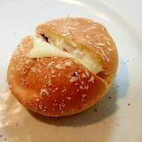 チーズ&シーサラダinカレーパン