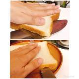 食パンの切り方☆スライス方法☆サンドイッチ用など