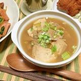 ラーメン屋さんのまかない湯豆腐