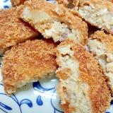 [お手伝いレシピ]鶏肉でおいしい味付きコロッケ♪
