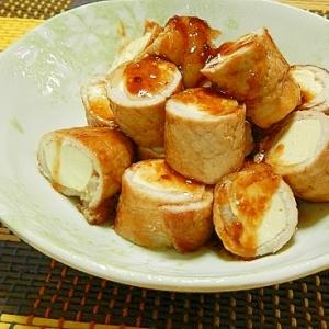 豆腐の豚ロール・スタミナ焼き