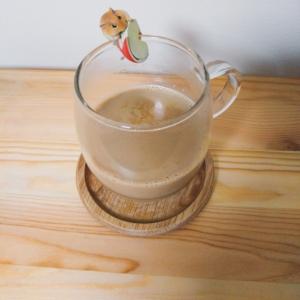 むぎ茶ラテ☆お気に入りのマイカップで♪