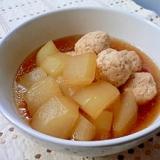 冬瓜と鶏団子の煮物