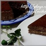 濃厚♪チョコレートムースケーキ