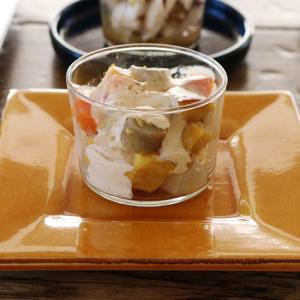 ボデガカップで 冬の根菜サラダ