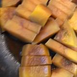 バターナッツかぼちゃの煮付け