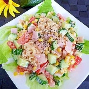 コロコロ野菜の☆そうめんサラダ