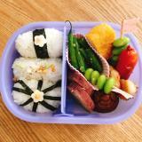 今週のお弁当☆映える俵おにぎり!