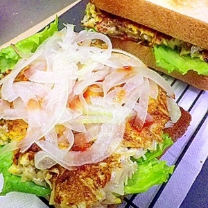 えのきいっぱいどうしよう サンドイッチでどうだろう