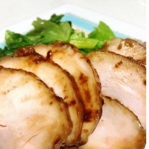 炊飯器でしっとり鶏チャーシュー