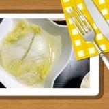 白菜のミルフィーユ中華スープ