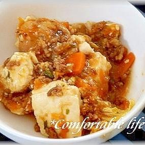★お野菜たっぷり!豆腐オイスター炒め