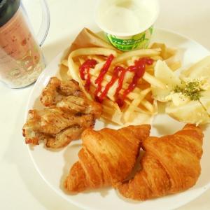炙り鶏とポテトのワンプレート