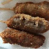 辛子風味の牛串カツ