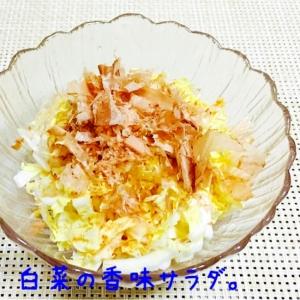 白菜のシャキシャキ☆香味サラダ。