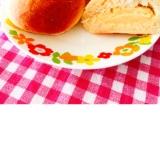 美味しい♬ 豆乳カスタードのクリームパン