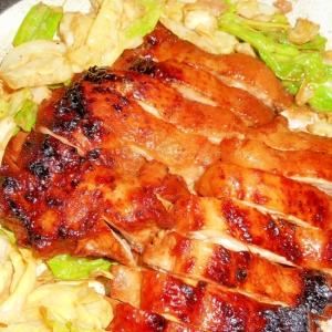 鶏のはちみつ味噌漬け焼き