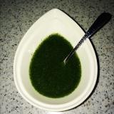 貧血対策02、超簡単・ほうれん草のグリーンソース