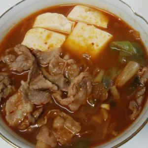 からだぽかぽか⭐豚キムチスープ