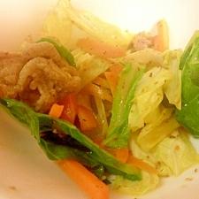 お弁当に☆キャベツと豚肉の七味炒め