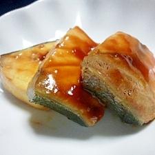 お弁当に☆レンジでブリの照り焼き風