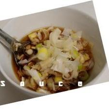 生姜とネギの香味ダレ 簡単でお魚にもお肉にもok!