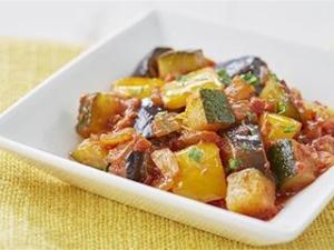 電子レンジで簡単!ごろごろ野菜のラタトゥイユ