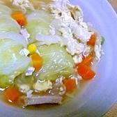 ロールキャベツ入りスープ
